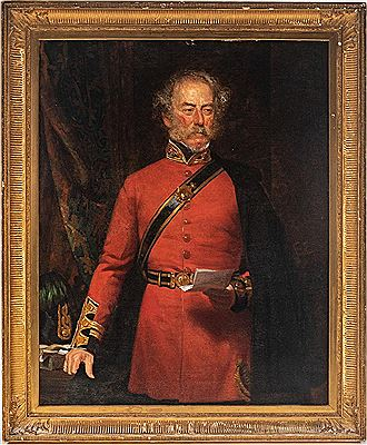 Norman Macbeth-Portrait of a British Officer