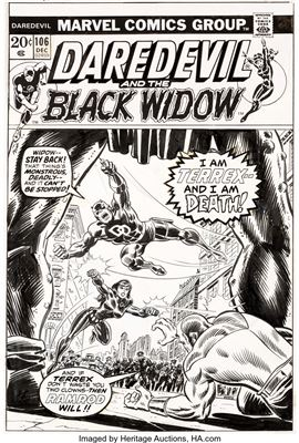 Rich Buckler - Artist, Fine Art Prices, Auction Records for