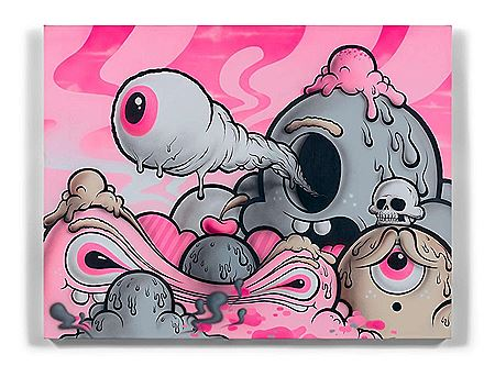 Buff Monster-Sans titre - 2013