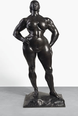 Gaston Lachaise-Standing Woman [LF 92]