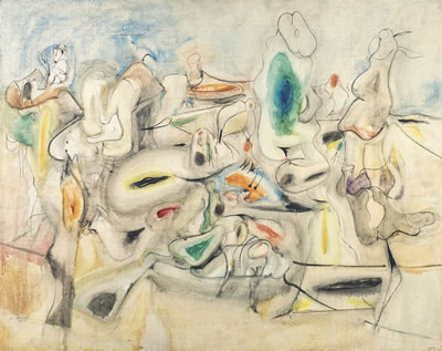 Arshile Gorky-Good Afternoon, Mrs. Lincoln