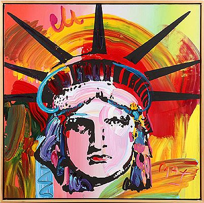 "Peter (Finkelstein) Max-""LIBERTY HEAD VERSION 1 NO. 4 """