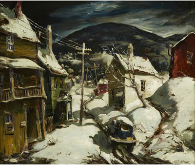 "Henry Martin Gasser-""ROAD TO BLACK MOUNTAIN"""