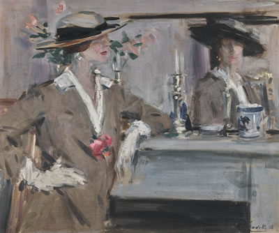 Francis Campbell Boileau Cadell-REFLECTION