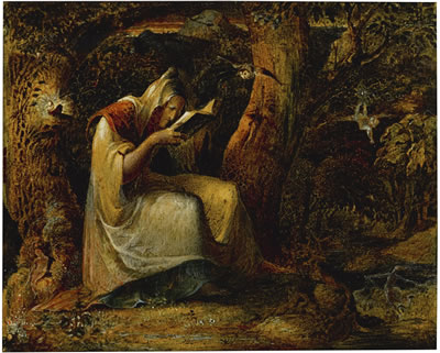 George Richmond : THE WITCH
