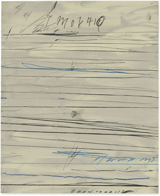 Cy (Edwin Parker Jr.) Twombly-Untitled (Ramifications)