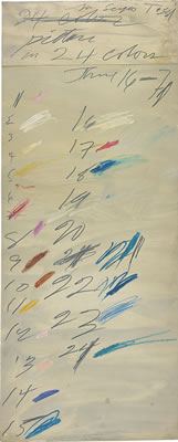 Cy (Edwin Parker Jr.) Twombly-Untitled