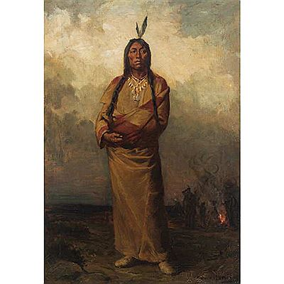 Robert Harris : INDIAN CHIEF OF THE NORTH WEST, CANADA