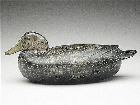 Daniel G. English-Well painted black duck