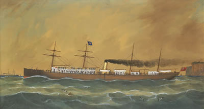 George Frederick Gregory-SS Australia