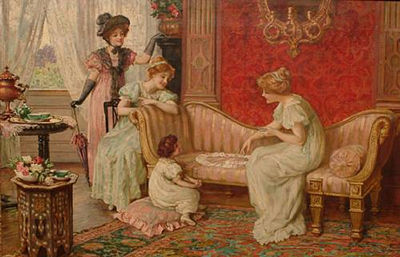 Francis Sydney Muschamp-A game of patience
