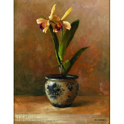 Laurie Kersey-Orchid Study