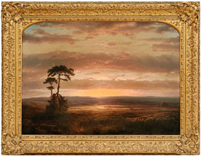 "Louis Remy Mignot-""Solitude or Sunset"""