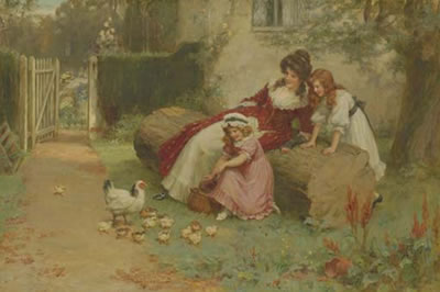 George Sheridan Knowles-The Little Ones