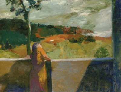 Elmer Nelson Bischoff-Red Cliffs