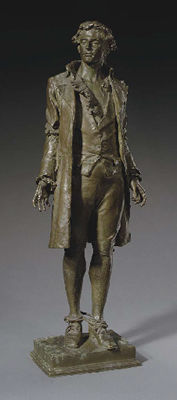 Frederick William MacMonnies-Nathan Hale