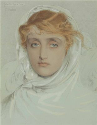 Anthony Frederick Augustus Sandys-The White Mayde of Avenel