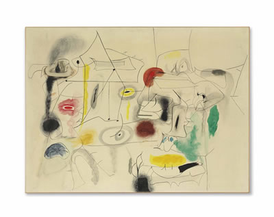 Arshile Gorky-Child's Companions