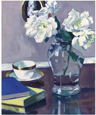 Francis Campbell Boileau Cadell-Roses