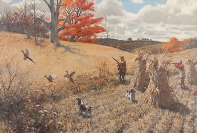 Aiden Lassell Ripley-Springers and Pheasants