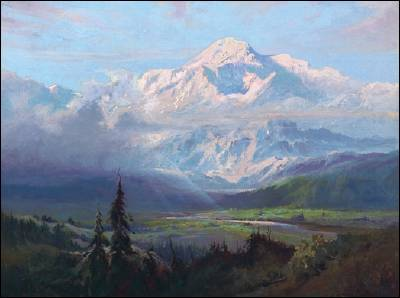 Sydney Mortimer Laurence-An August Afternoon, Mt McKinley