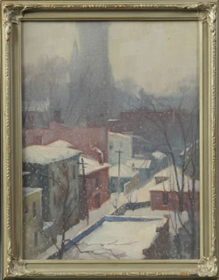 Clifford McCormick Ulp-Snow Storm in City