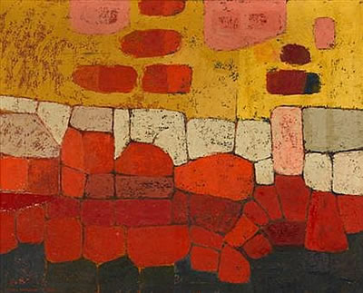 George Morrison-UNTITLED ABSTRACTION