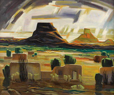 Doel Reed-Adobe and Mesas