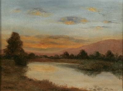 Andrew Graham Paul-River Sunset