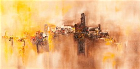 John Jackson-ORANGE ABSTRACT