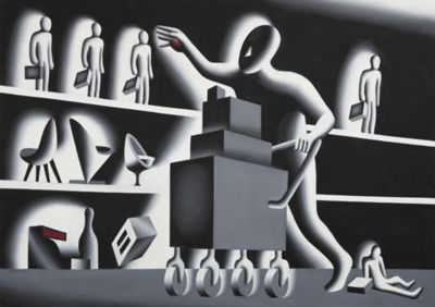 Mark Kostabi-Accumulation