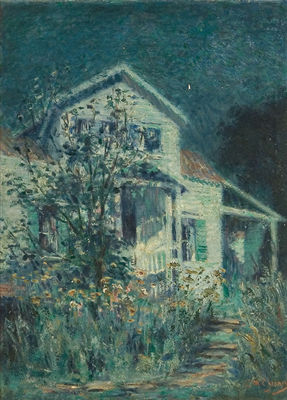 Clara J. Taggert McChesney-White House , Evening