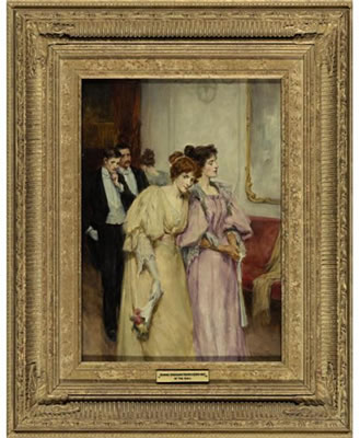 George Sheridan Knowles-AT THE BALL