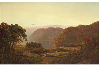 William Louis Sonntag Sr.-Autumn Landscape