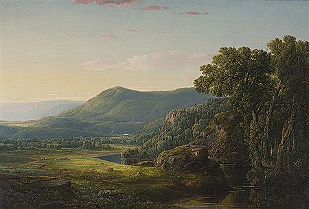 William Louis Sonntag Sr.-MORNING IN THE ALLEGHENIES