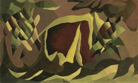 Arthur Garfield Dove-LATTICE AND AWNING
