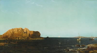 Arthur Quartley-NDIAN ROCK, NARRAGANSETT BAY