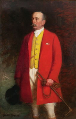 Robert Harris : PORTRAIT OF GILBERT JOHN, 4TH EARL OF MINTO, EIGHTH GOVERNOR GENERAL OF CANADA