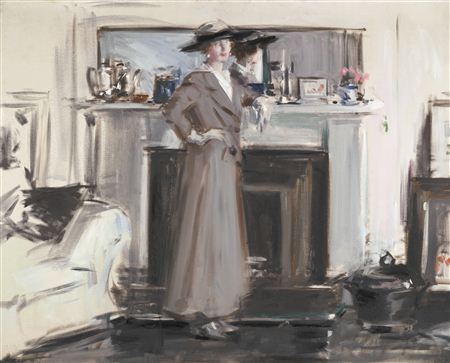 Francis Campbell Boileau Cadell-REFLECTIONS