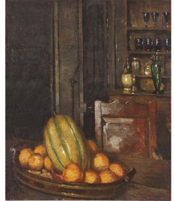 Ethel Sands-Interior with Fruit, Offranville