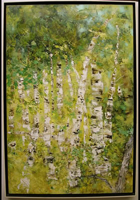 William Allister-BIRCH TREES