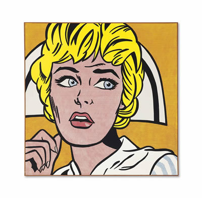 Roy Lichtenstein-Nurse (estimate upon request)