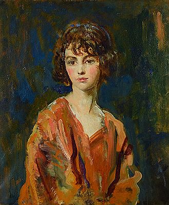 Ambrose McEvoy-Portrait of a young girl