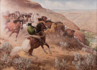 Edward Burns Quigley-Reservation Roung-Up